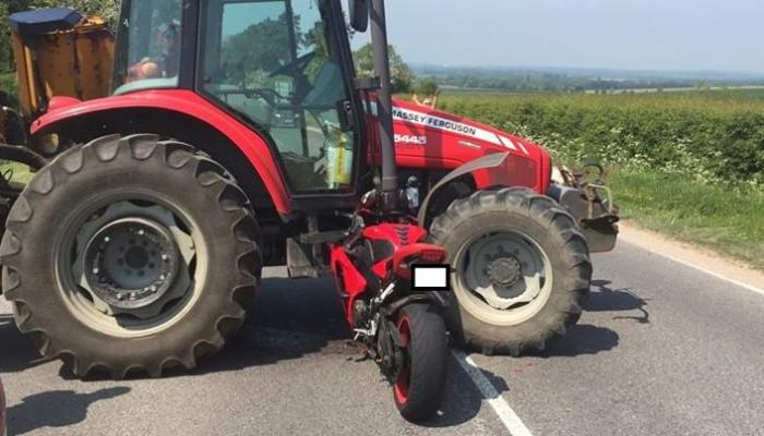 Tractor bike z