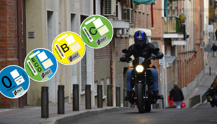 Bez naklejki nie wjedziesz - Madryt bierze na celownik kopcące motocykle