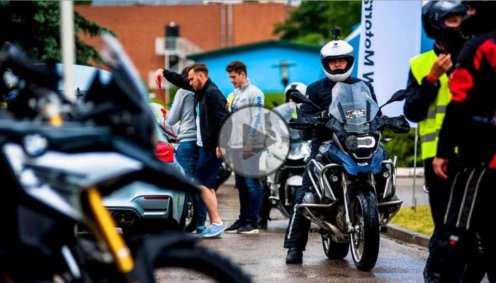 Dni BMW Motorrad Polska w Mrągowie [film i zdjęcia]