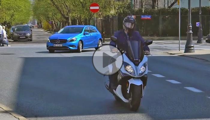 Kymco X Citing 400 - wybrać skuter, czy samochód? [film]