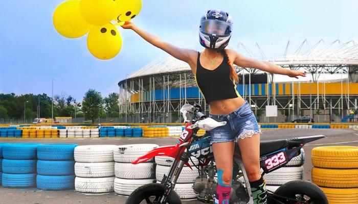 Druga runda Pucharu Polski Pitbike Supermoto w Toruniu - oczami zawodniczki