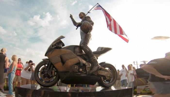 W rodzinnym mieście Nicky'ego Haydena odsłonięto jego pomnik