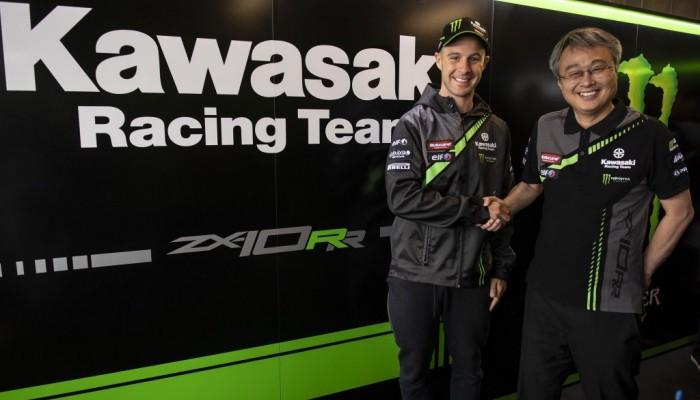 Jonathan Rea zostaje w Kawasaki Racing Team WorldSBK na kolejny sezon