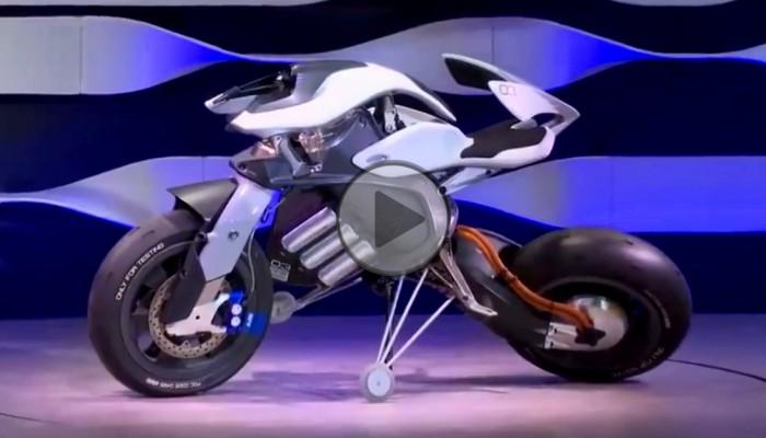 Samobalansujacy motocykl Yamahy z