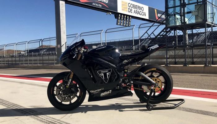 Ruszyły testy na torze nowych maszyn Moto2 z silnikami Triumpha