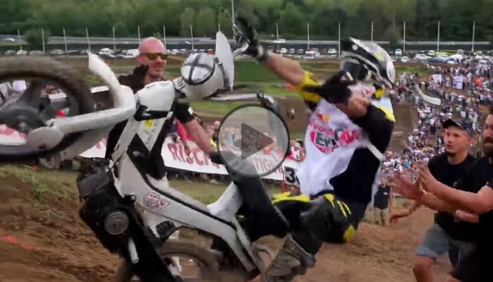 Motorower Motocross Challenge. Genialna impreza Red Bulla [FILM]