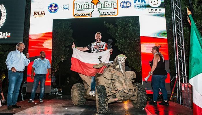 Arek Lindner zdobywa brązowy medal w FIM Bajas World Cup 2018