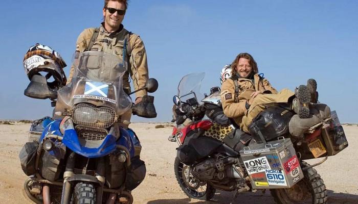 Long Way Up. Charlie Boorman i Ewan McGregor wyruszą z Patagonii na Alaskę