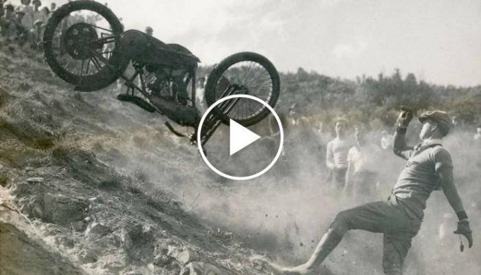Hillclimb retro, czyli jak wyglądał enduro motocross 90 lat temu [FILM]