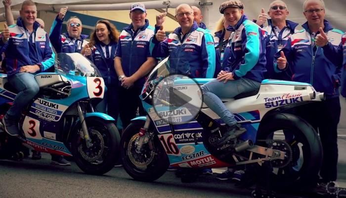 Team Classic Suzuki i legendarne RG 500