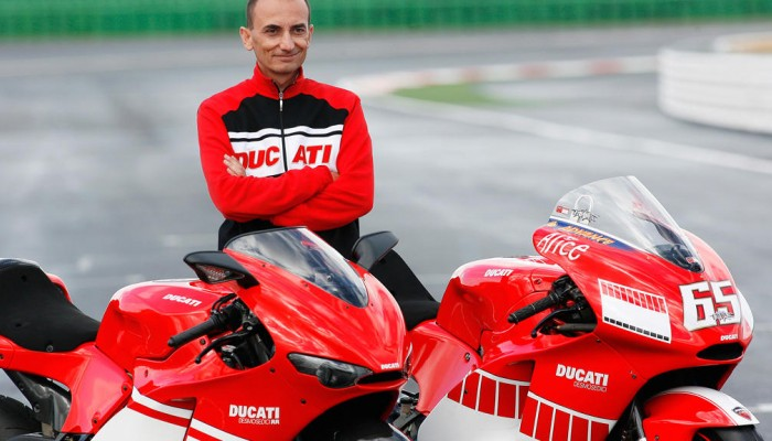 Ducati CEO Claudio Domenicali z