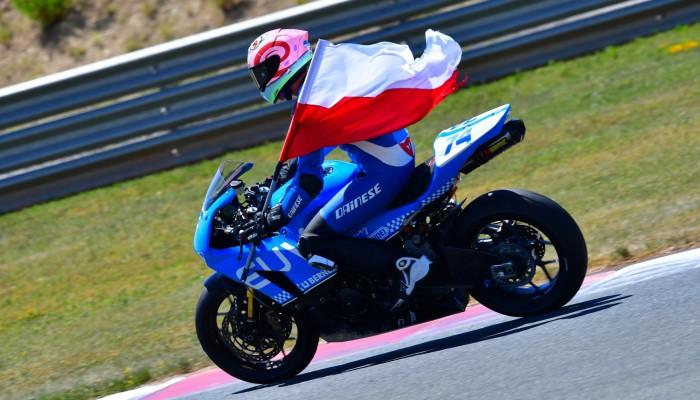 Piotr Biesiekirski motocyklowym drugim wicemistrzem Hiszpanii