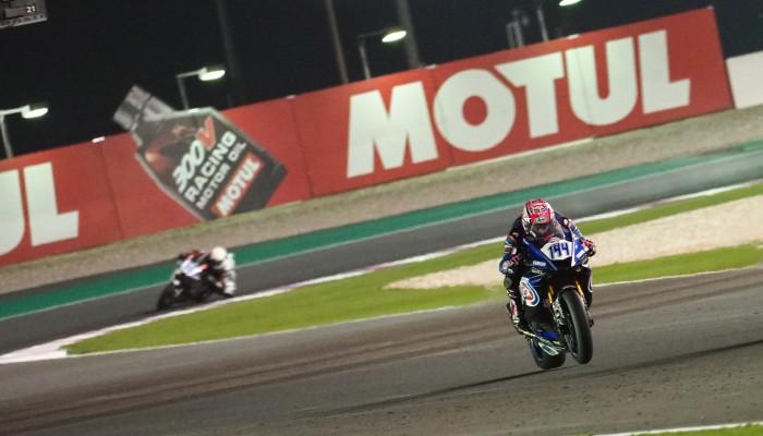 Skrócony wyścig w Katarze - Lucas Mahias wygrał, Sandro Cortese mistrzem świata