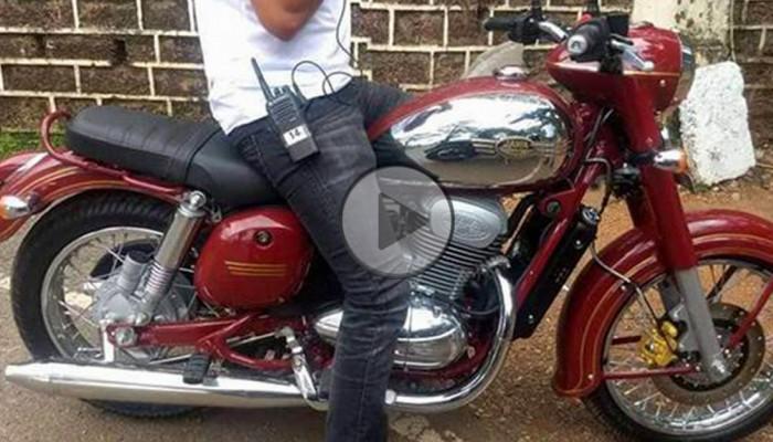 Jawa Motorcycle spied1 z