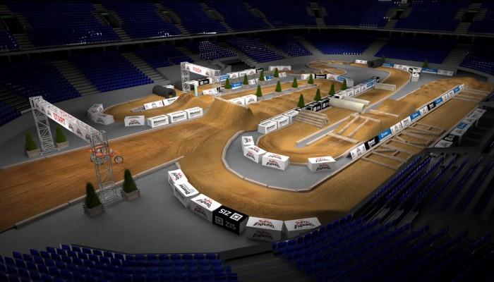 Motocyklowe Mistrzostwa Świata Superenduro - wizualizacja toru