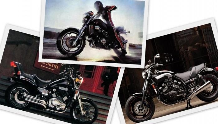Honda VF1100 Magna, Suzuki GV1200 Madura i Yamaha V-Max - killerzy z lat 80.
