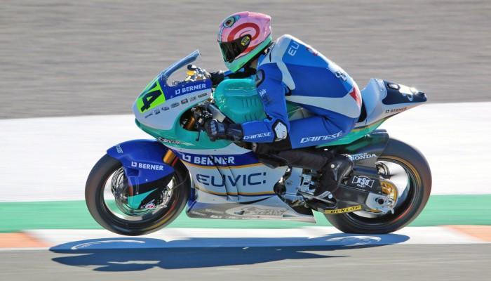 Polak siódmy w motocyklowych ME Moto2 w Walencji