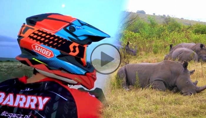 Safari na motocyklach i najlepszy Sex Shop w Afryce [film]