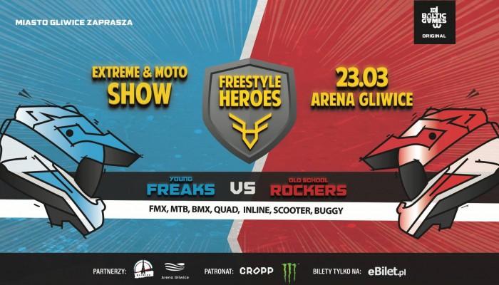 Freestyle Heroes - impreza w Gliwicach dla fanów FMX