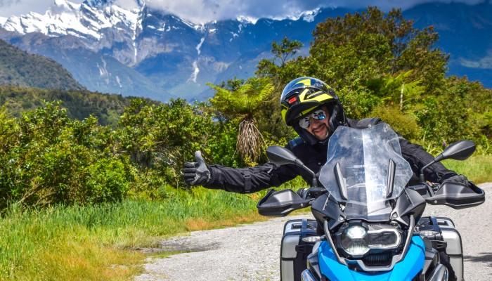 Kierunek: Nowa Zelandia. Motocyklem przez krainę Hobbitów.
