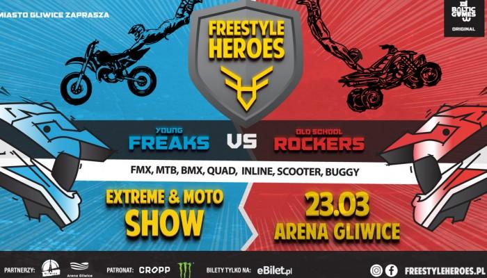 Freestyle Heroes: Wyjątkowe wydarzenie odbędzie się wiosną w Gliwicach