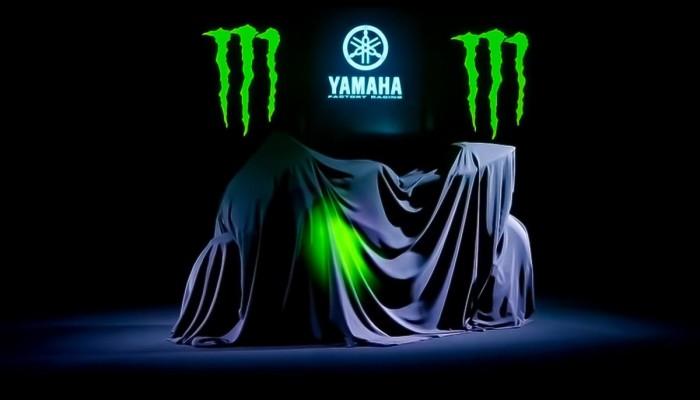 Monster Energy Yamaha MotoGP zalane czernią na sezon 2019