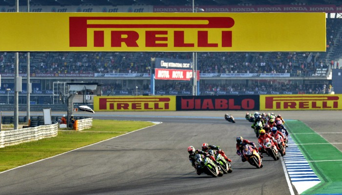 Trzy tysiące opon Pirelli na gorący weekend WSBK w Tajlandii