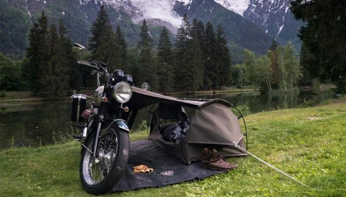 Goose: Wingman of the Road - motocyklowy namiot dla zdeklarowanych singli
