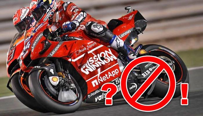protest przeciwko Ducati z