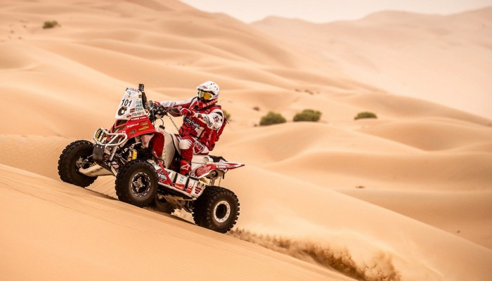 Sonik nie zdołał złamać żelaznej zasady Desert Challenge
