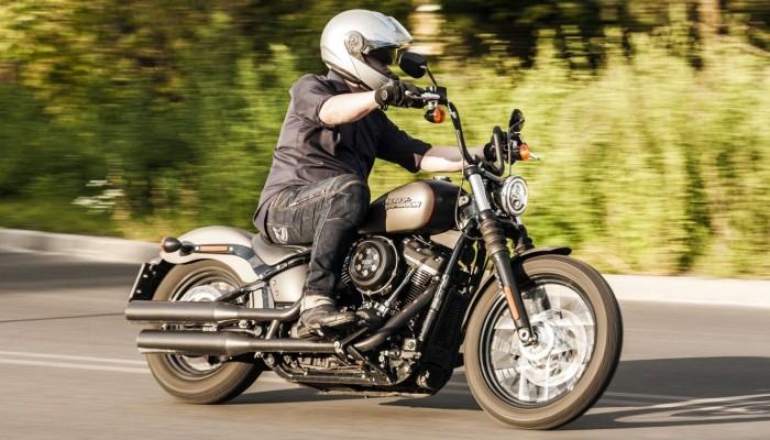 Harley Davidson Street Bob 2018 test 19 z
