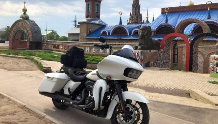 Harleyem przez Syberię - nietypowy kierunek na nietypowym motocyklu