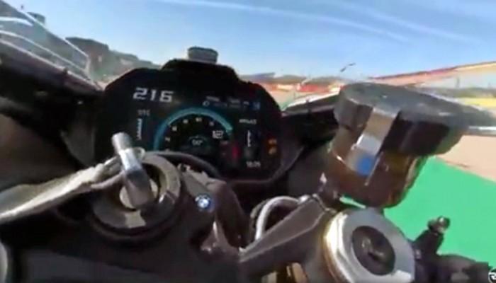 Troy Corser BMW S 1000 RR w wersji M z