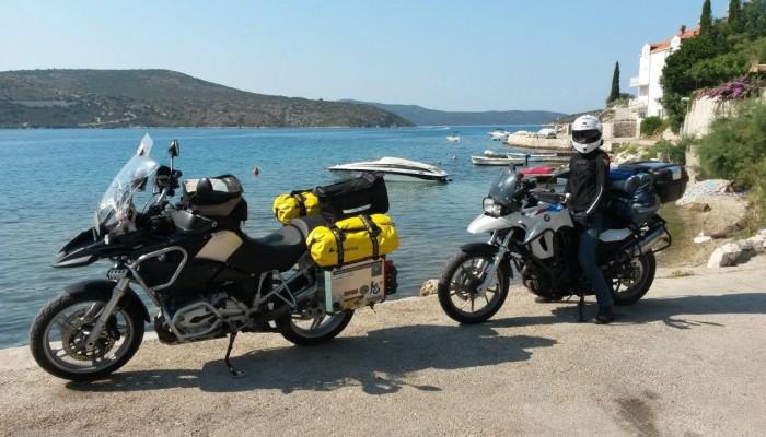 Zatoka w Slano Chorwacja z