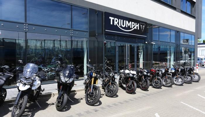 Motocykle testowe Triumph czekają na ciebie w salonach!