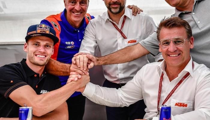 Brad Binder przechodzi do MotoGP - podpisał kontrakt z Tech 3 KTM!