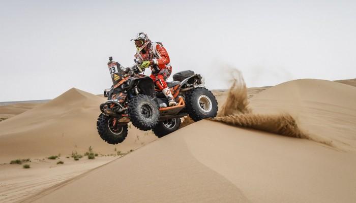 Silk Way Rally: Lindner zachwycony najdłuższym etapem rajdu