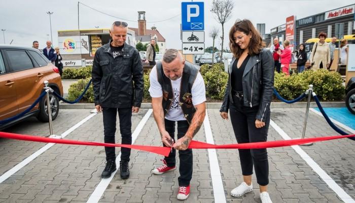 parking dla motocykli w Inowroclawiu z