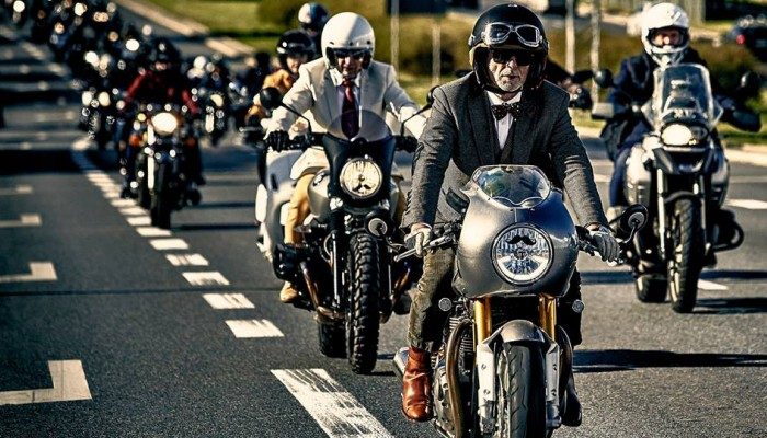 Triumph po raz kolejny sponsorem The Distinguish Gentleman's Ride