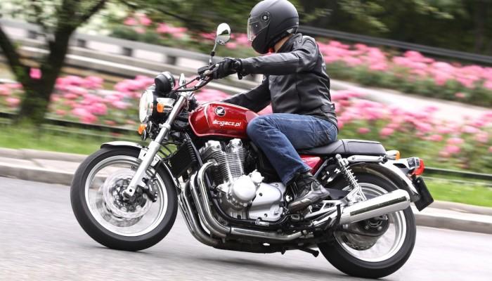 Honda CB1100 EX w trasie z