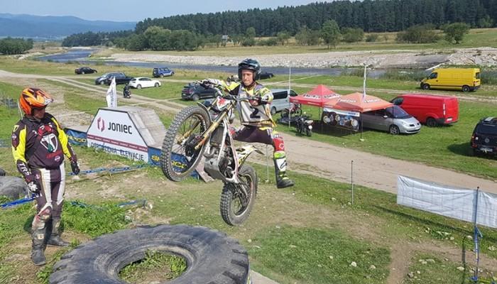 Gabriel Marcinów wygrywa 7 i 8 rundę mistrzostw Polski w trialu
