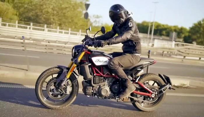 Indian FTR 1200 [TEST VIDEO - BEZ CENZURY]