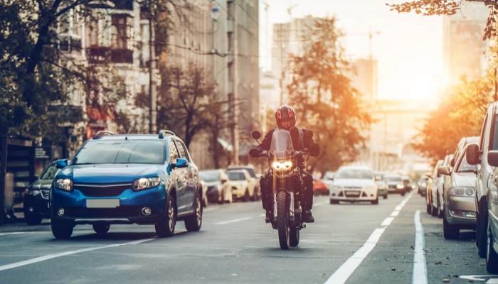 motocykl miasto z
