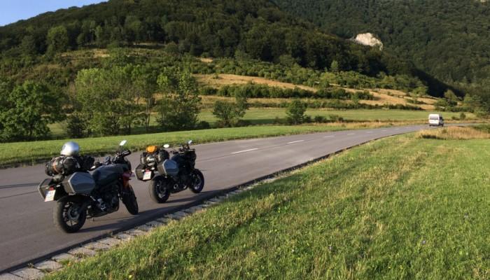 Yamaha Tracer 700 i 900 GT na slowacji 20 z z