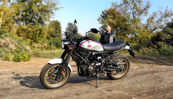Yamaha XSR 700 XTribute. Hołd dla motocykla [OPIS, OPINIA TEST]