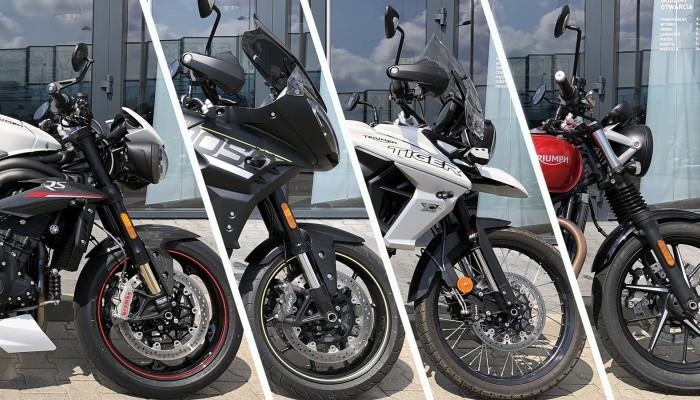 Używany gwarantowany. Skorzystaj z okazji i kup motocykl demonstracyjny Triumph!