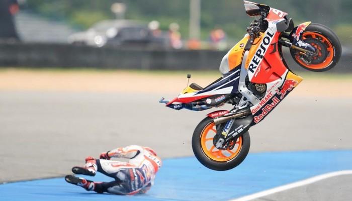 GP Tajlandii: Marquez w szpitalu! Czy da radę w walce o ósmy tytuł? [VIDEO]