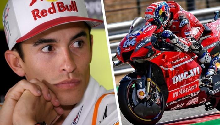 Mistrz Swiata Marc Marquez Ducati z