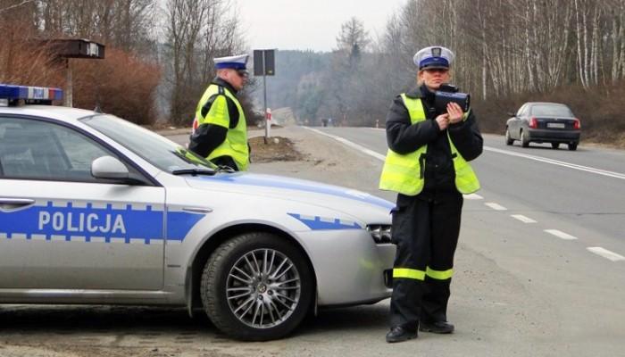 Kontrola policyjna z