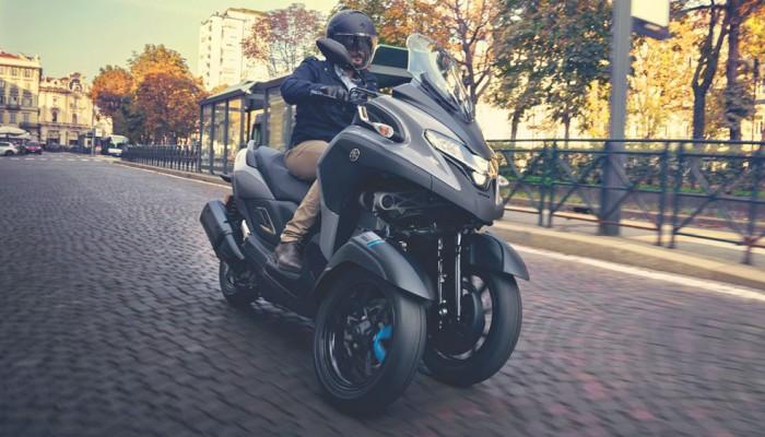Yamaha Tricity 300 - najlżejsza w klasie
